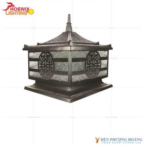 Đèn trụ cổng Phượng Hoàng 6054