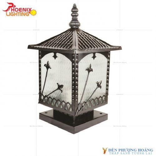 Đèn trụ cổng Phượng Hoàng 6063