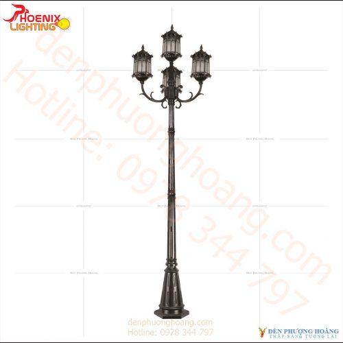 Đèn trụ Mẫu đèn trụ công viên Phượng Hoàng 05