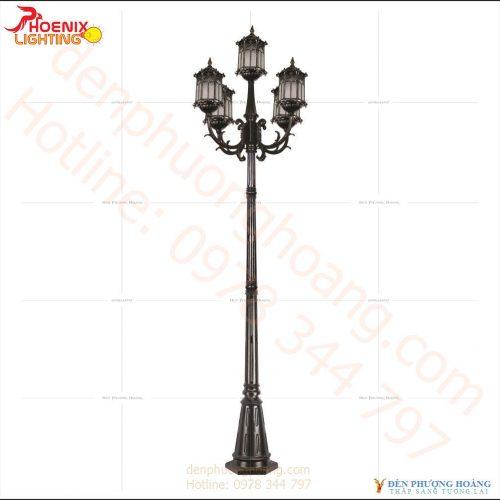 Đèn trụ Mẫu đèn trụ công viên Phượng Hoàng 06