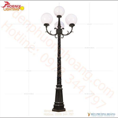 Đèn trụ Mẫu đèn trụ sân vườn trang trí
