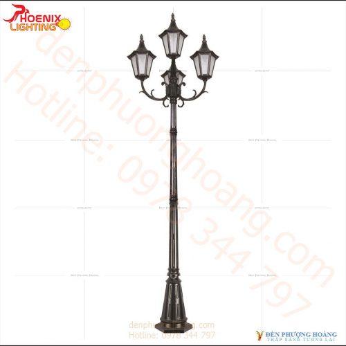 Đèn trụ công viên Phượng Hoàng 09