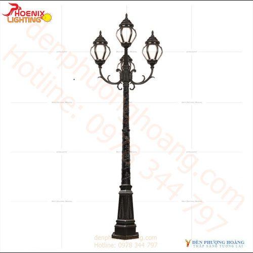 Đèn trụ công viên Phượng Hoàng 13