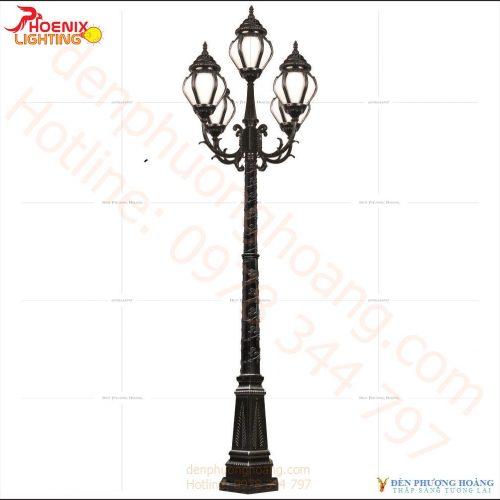 Đèn trụ công viên Phượng Hoàng 14