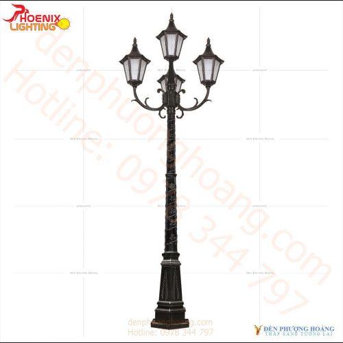 Đèn trụ công viên phong cách cổ điển