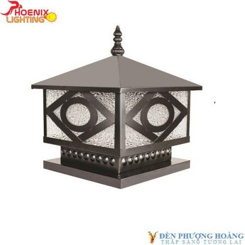 Đèn trụ cổng Phượng Hoàng 04