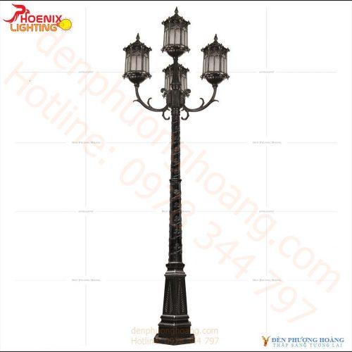 Mẫu đèn công viên kiểu dáng hoàng cung