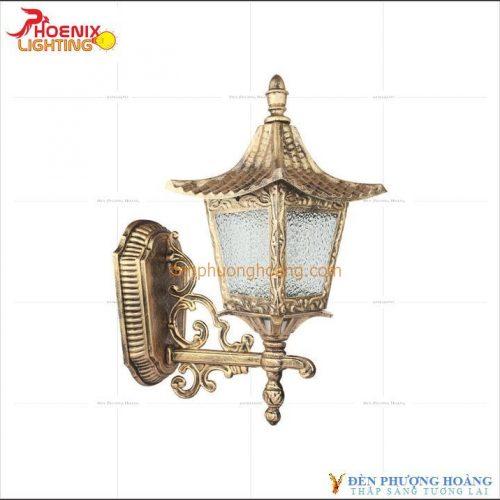 Mẫu đèn vách trang trí sang trọng quý phái