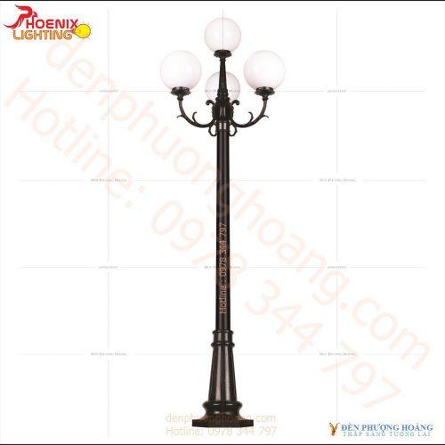 Trụ đèn công viên đơn giản và nhẹ nhàng