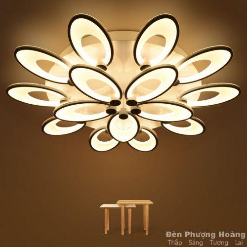 Đèn Ốp Trần Hình Hoa Cúc Hạnh Phúc