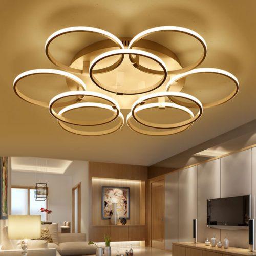 Đèn Ốp Trần LED 9 cánh tròn