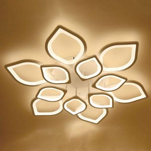 Đèn Ốp Trần Led Hình Cánh Sen