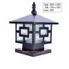 Đèn trụ cổng vuông kiểu dáng giản đơn