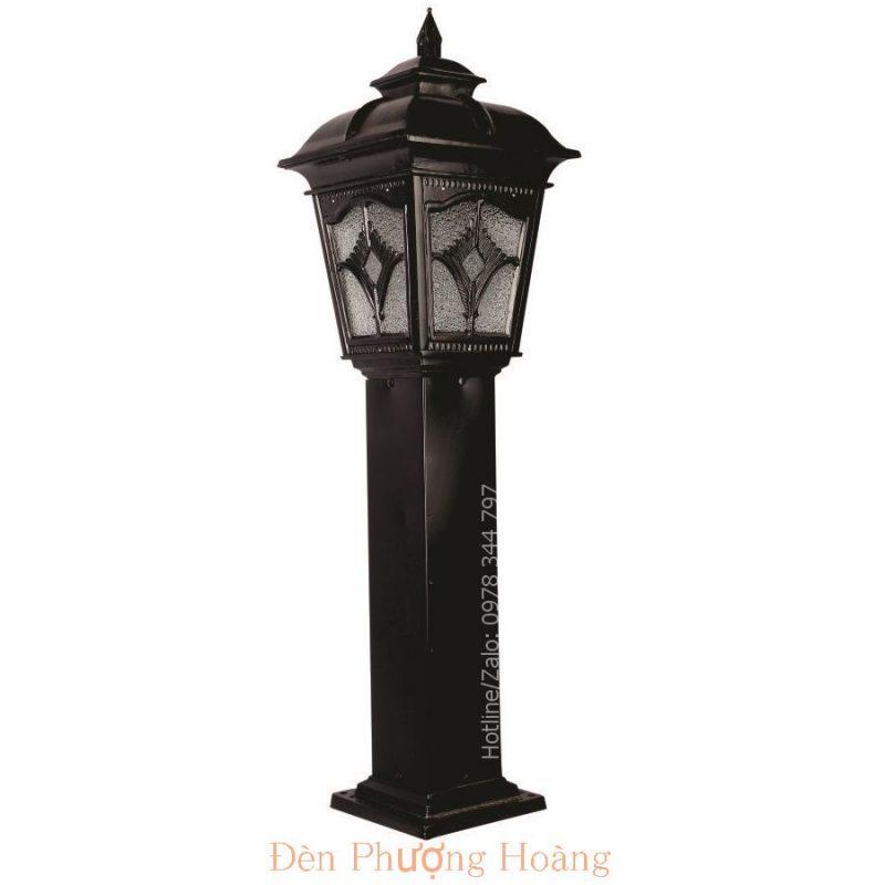 Đèn trụ sân vườn kiểu dáng cổ điển - Đèn Phượng Hoàng