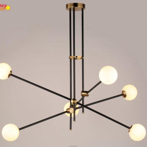 Đèn thả trang trí cách điệu tinh tế và sang trọng cho bàn ăn