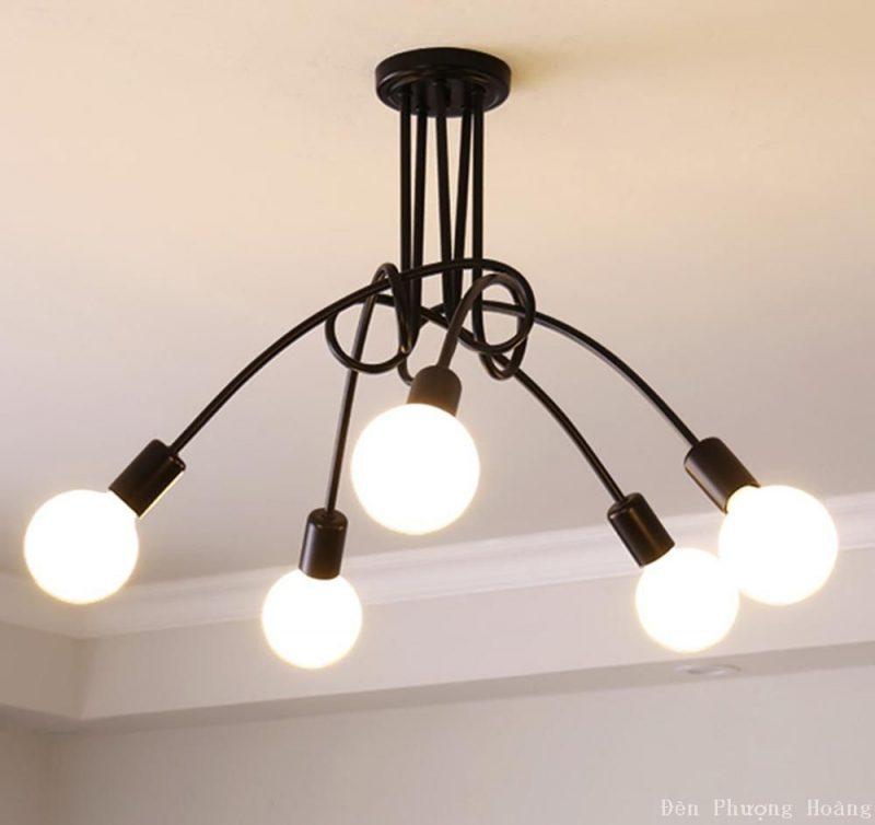 Đèn thả trang trí kiểu đơn giản giá rẻ tại Sài Gòn