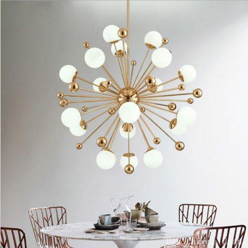Đèn thả trang trí phòng khách tinh tế và sang trọng