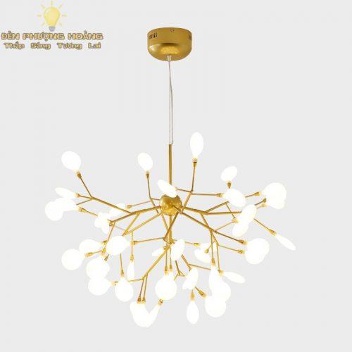 Đèn thả hera trang trí căn hộ - Đèn Phượng Hoàng