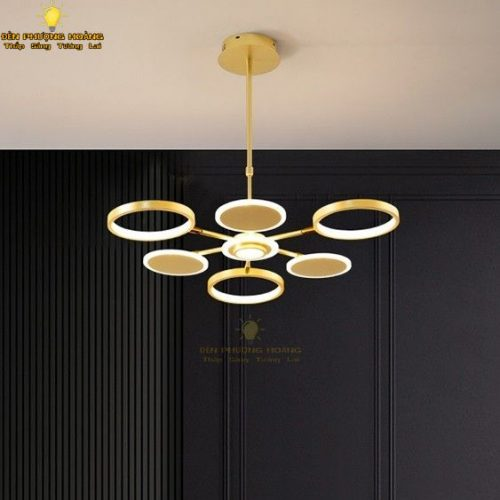 Đèn thả led hiện đại trang trí căn hộ tuyệt đẹp
