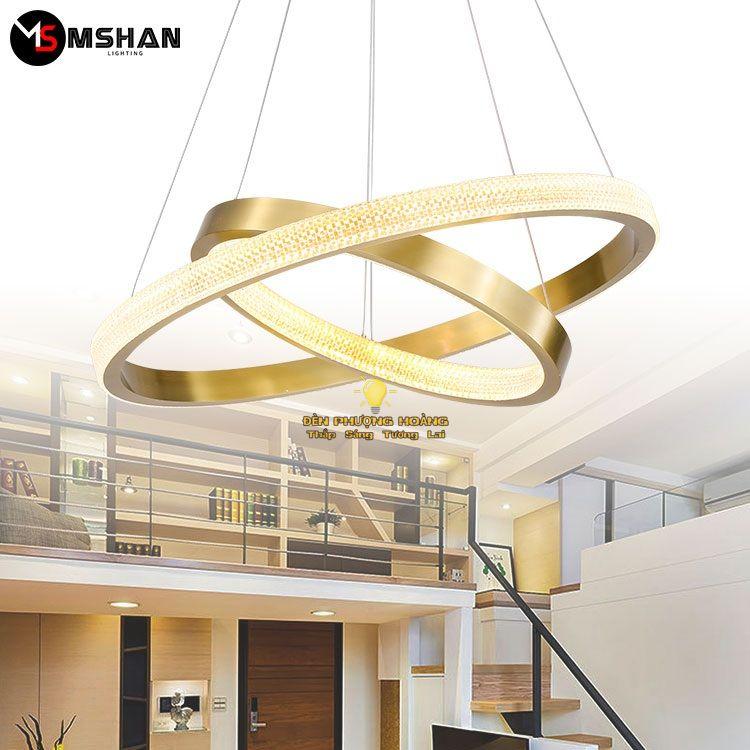 Đèn thả cao cấp trang trí căn hộ biệt thự sang trọng