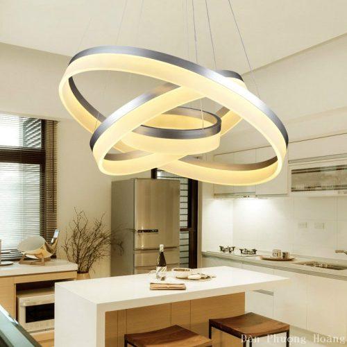 Đèn thả trang trí căn hộ chung cư bền bỉ và tiện ích