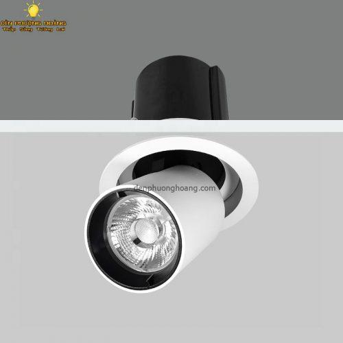 Đèn chiếu âm trần chỉnh góc