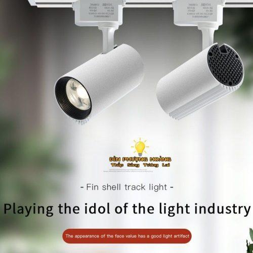Đèn rọi ray COB ánh sáng trung tính
